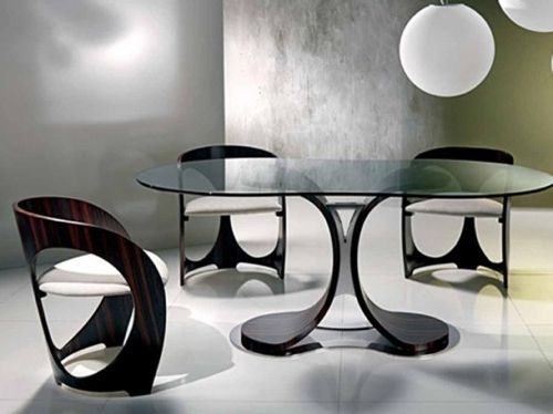 Stylish Dining Chairs For Trendy Stylish Dining Room Table And Chairs (Gallery 18 of 20)