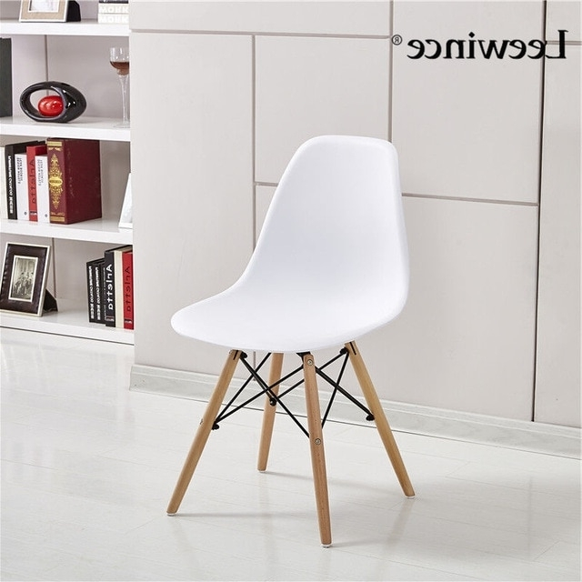 Stylish Dining Chairs Inside Favorite Leewince Fashion Dining Chairs Simple Plastic Creative Leisure (Gallery 12 of 20)