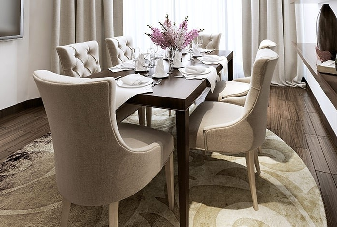 Supportive Dining Chairs (View 17 of 20)