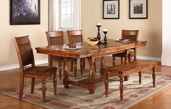 Sweet's Wood Furniture Winners Only Grand Estate Dining Regarding Well Known Acacia Dining Tables (View 5 of 20)