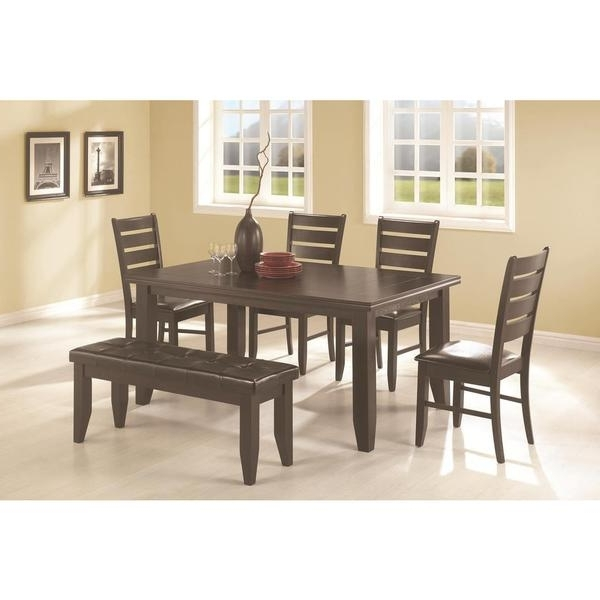 Talara 6 Piece Dining Set – Free Shipping Today – Overstock – 17742786 Intended For Widely Used Caden 7 Piece Dining Sets With Upholstered Side Chair (View 18 of 20)