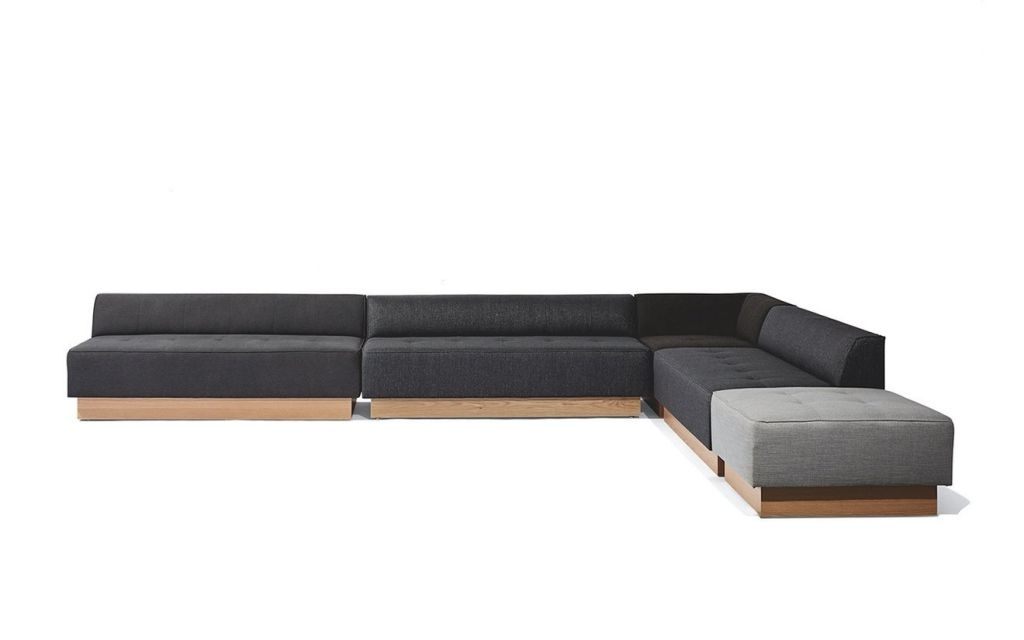Tatum Dark Grey 2 Piece Sectionals With Laf Chaise Inside Fashionable Decoration: Halsey Sectional Pieces Fresh 3d Halsey Sectional Sofa (View 15 of 15)