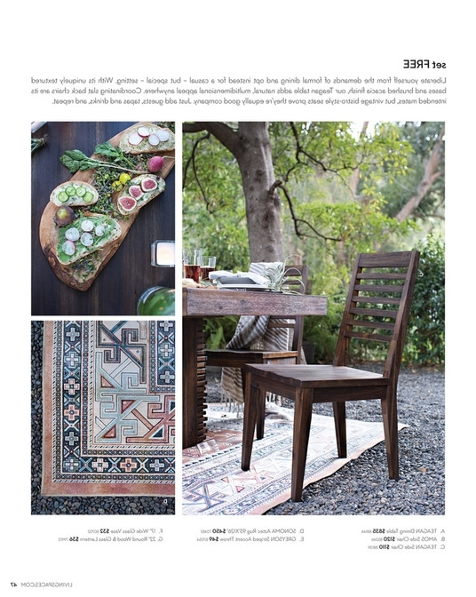 Teagan Extension Dining Tables Throughout Widely Used Living Spaces – Product Catalog – February 2016 – Teagan Extension (View 2 of 20)