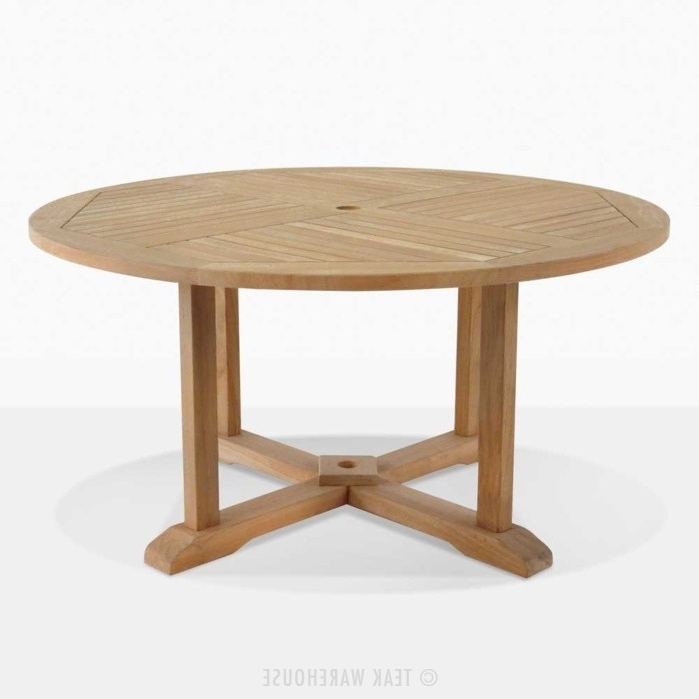 Teak Warehouse In Trendy Round Teak Dining Tables (View 17 of 20)