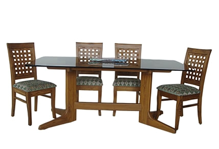 Teak Wood Dining Table Glass Top, Glass Dining Room Table, Glass Inside Most Up To Date Wooden Glass Dining Tables (View 17 of 20)