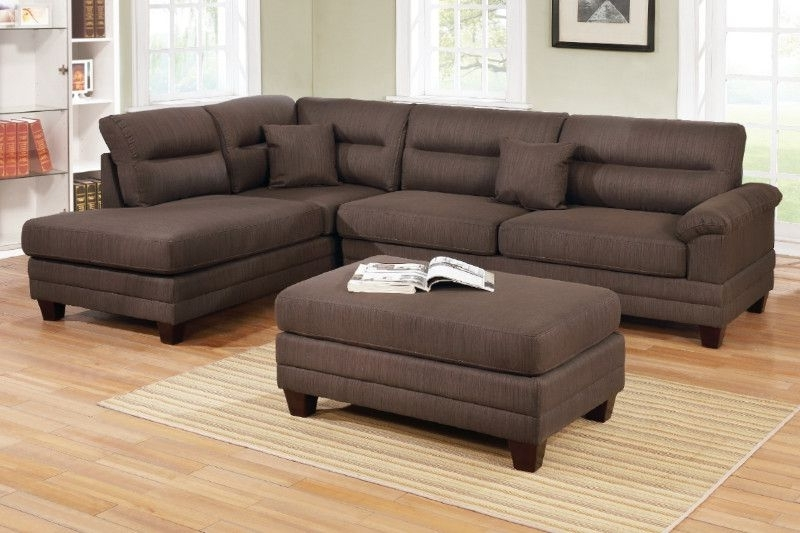 Tenny Dark Grey 2 Piece Left Facing Chaise Sectionals With 2 Headrest With Most Recently Released American Eagle Furniture Ek Lb309 Dc Dark Chocolate Sofa C (View 12 of 15)