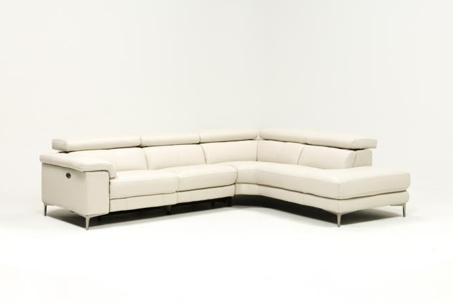 Tess 2 Piece Power Reclining Sectional W/laf Chaise (View 1 of 15)