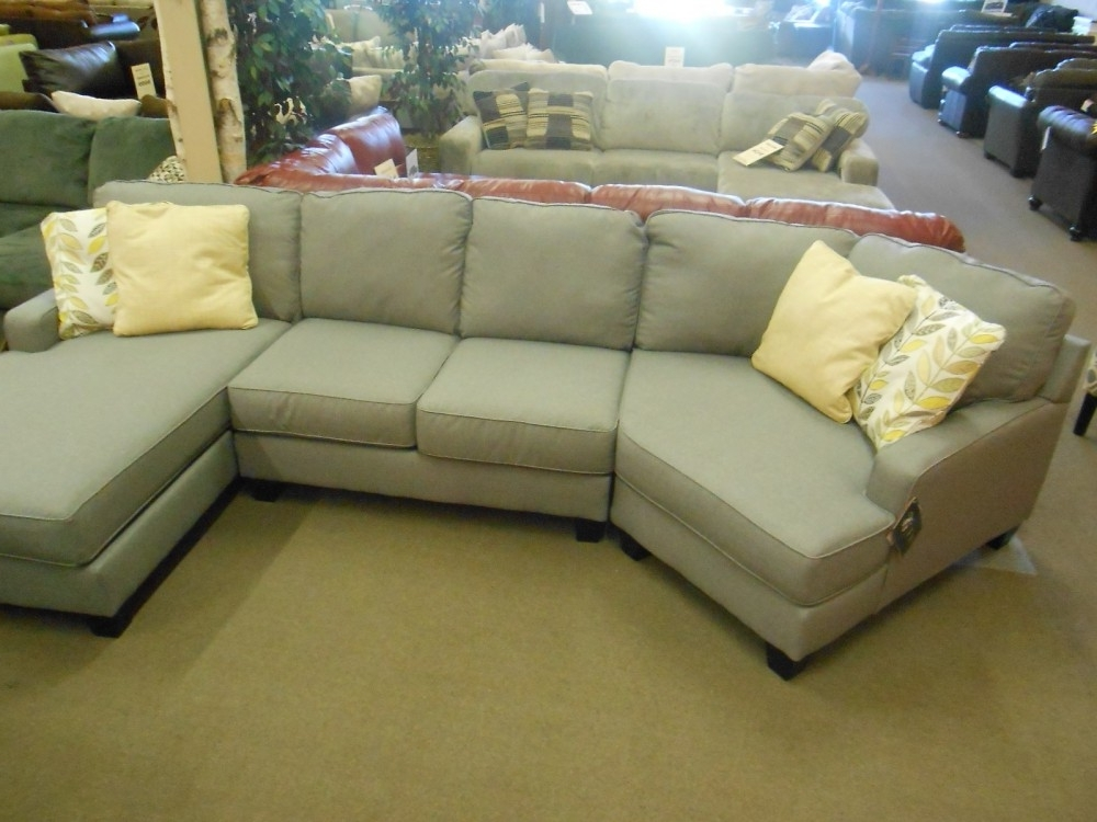 The Attractive 3 Piece Sectional Sofa With Chaise For Household Intended For Famous Harper Foam 3 Piece Sectionals With Raf Chaise (View 12 of 15)