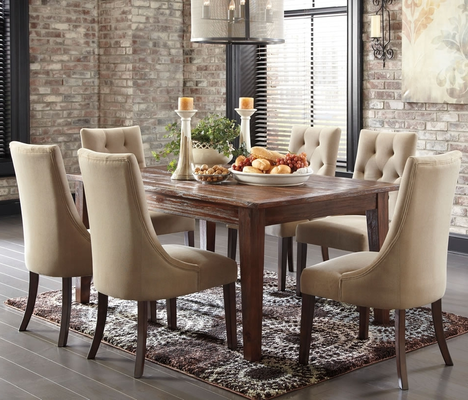The Best In 2018 Market Of Home Dining Room Collection Within Current Market 6 Piece Dining Sets With Side Chairs (View 19 of 20)