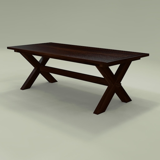 Toscana Dining Tables Intended For Recent Toscana Dining Table 3D Model – Formfonts 3D Models & Textures (View 13 of 20)
