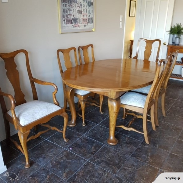 Trade Me With Regard To Newest Oak Dining Suite (View 18 of 20)