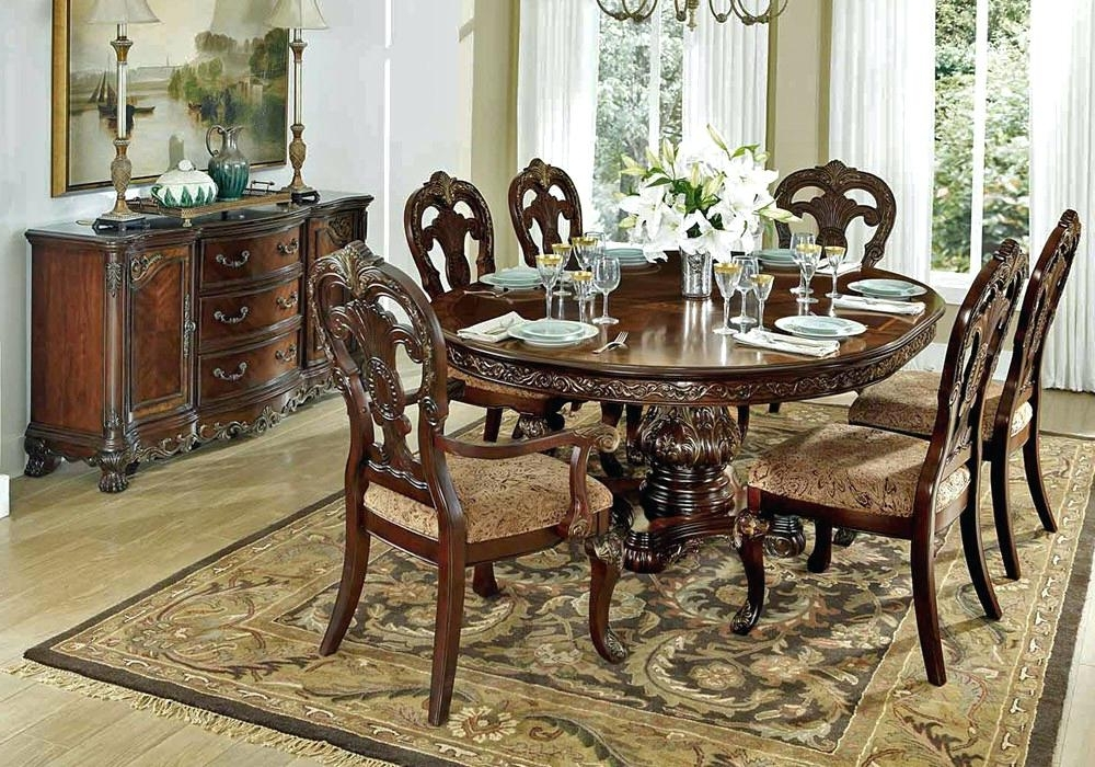 Traditional Dining Room Tables – Purport For Most Recent Traditional Dining Tables (View 12 of 20)