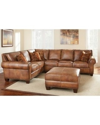 Travis Cognac Leather 6 Piece Power Reclining Sectionals With Power Headrest & Usb Inside Most Current Cognac Leather Sectional Travis 6 Piece Power Reclining W Pwr Hdrst (View 5 of 15)
