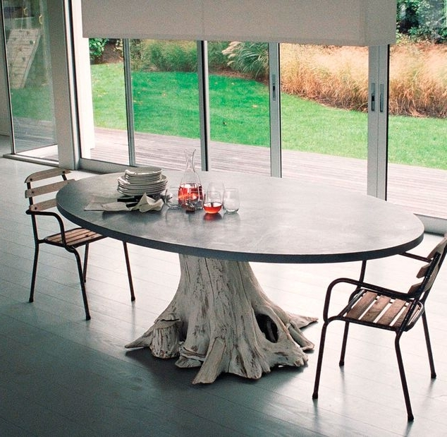Tree Dining Tables Within Current Tree Trunk Tables : Tree Trunk Table (View 15 of 20)