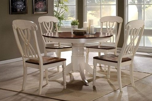 Trendy 12 Amazing Sears Dining Room Sets Under $1000 Worth Your Money Intended For Craftsman 5 Piece Round Dining Sets With Side Chairs (View 2 of 20)
