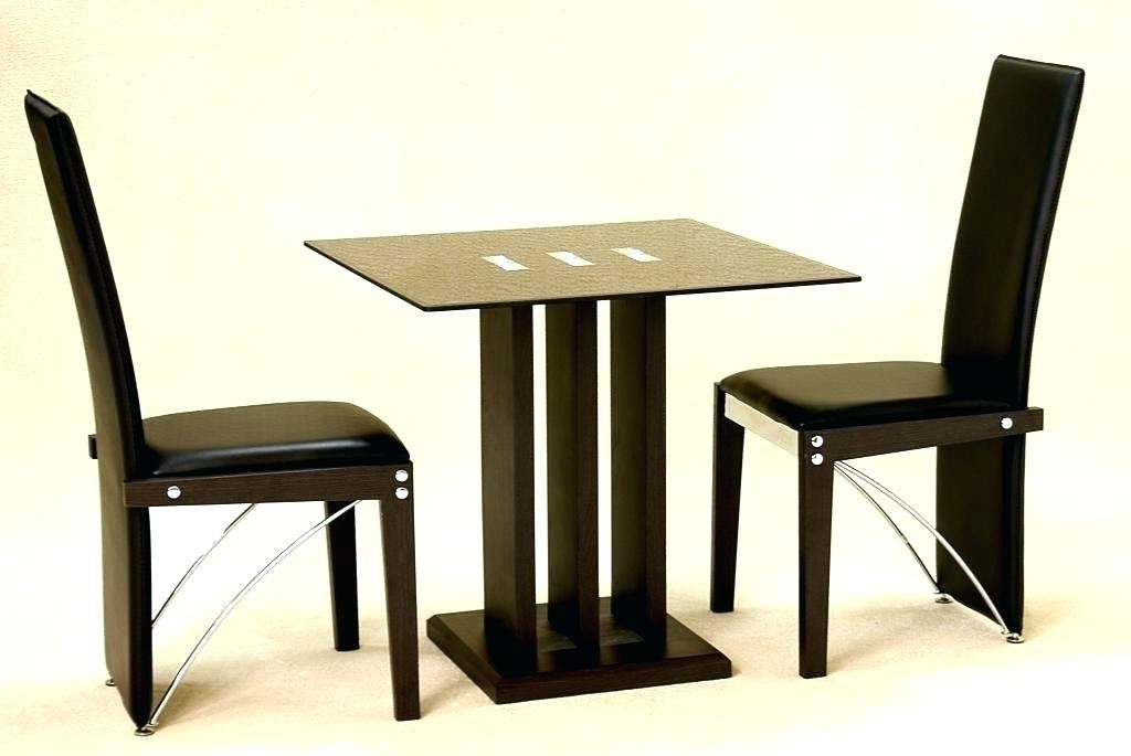 Trendy 2 Person Kitchen Table Set Two Person Table Set Small Two Person Regarding Small Two Person Dining Tables (View 16 of 20)