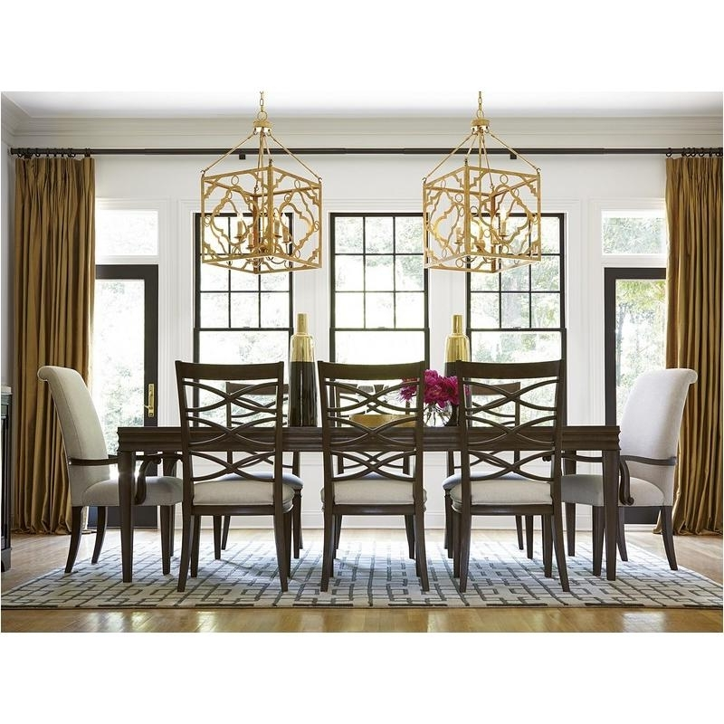 Trendy 475653 Universal Furniture Dining Table – Hollywood Hills With Regard To Universal Dining Tables (View 7 of 20)