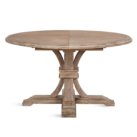 Trendy Archer Round Extendable Dining Table (View 18 of 20)
