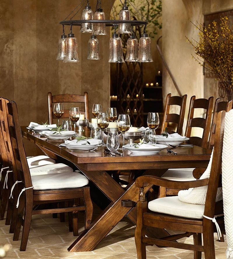 Trendy Artisanal Dining Tables Pertaining To Barn Style Dining Room Table # (View 17 of 20)