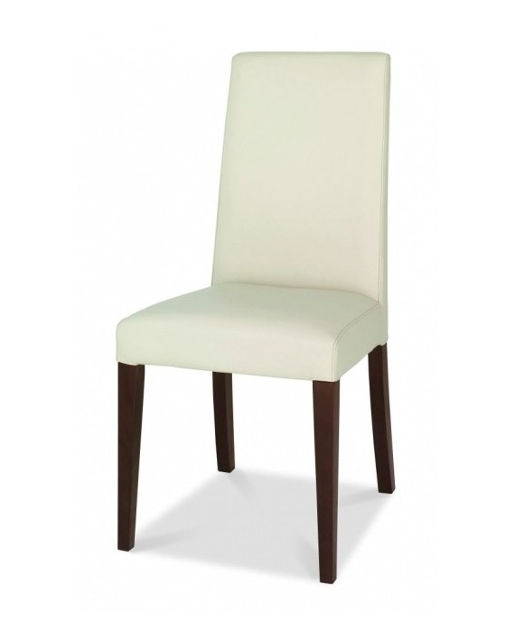 Trendy Bentley Designs – Akita Taper Back Ivory Leather Dining Chair For Ivory Leather Dining Chairs (View 18 of 20)