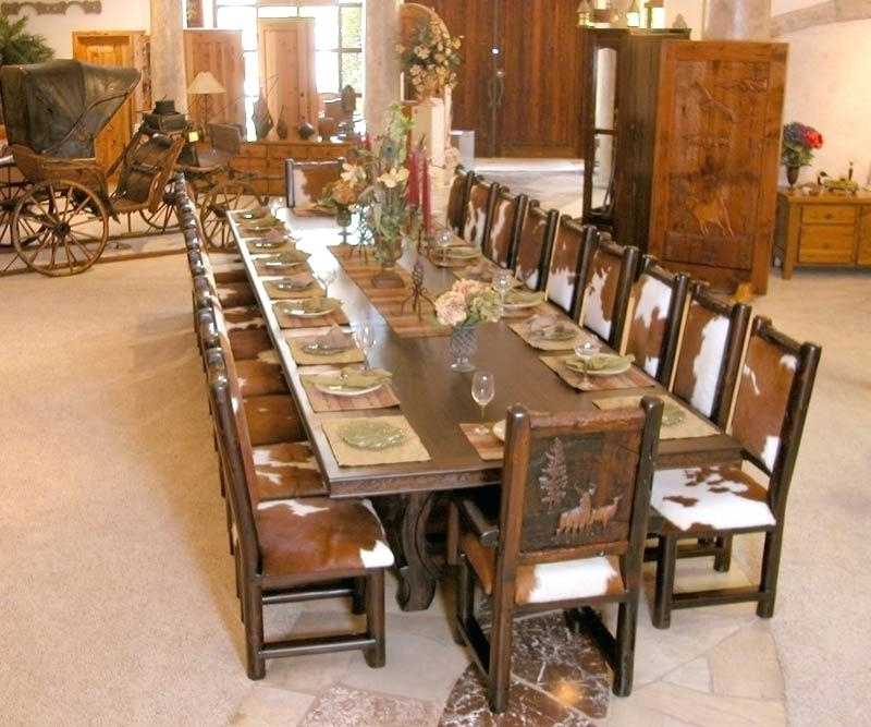 Trendy Big Dining Tables For Sale In Decoration: Large Dining Tables (View 4 of 20)