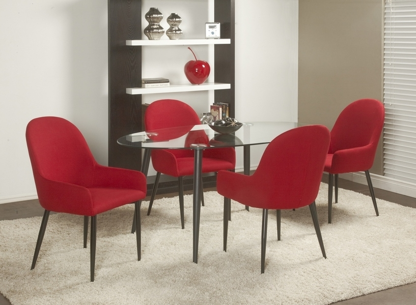 Trendy Chateau Imports Is A Wholesale Distributor Of Quality Home Furnishing With Red Dining Tables And Chairs (View 13 of 20)