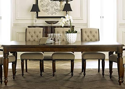 Trendy Cotswold Dining Tables Inside Amazon – Liberty Furniture Cotswold Dining Table In Cinnamon (View 20 of 20)