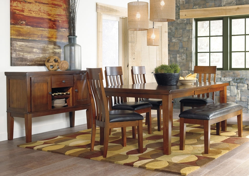 Trendy Craftsman 7 Piece Rectangle Extension Dining Sets With Uph Side Chairs Pertaining To Select Imports Furniture And Decor Ralene Rectangular Extension (View 18 of 20)