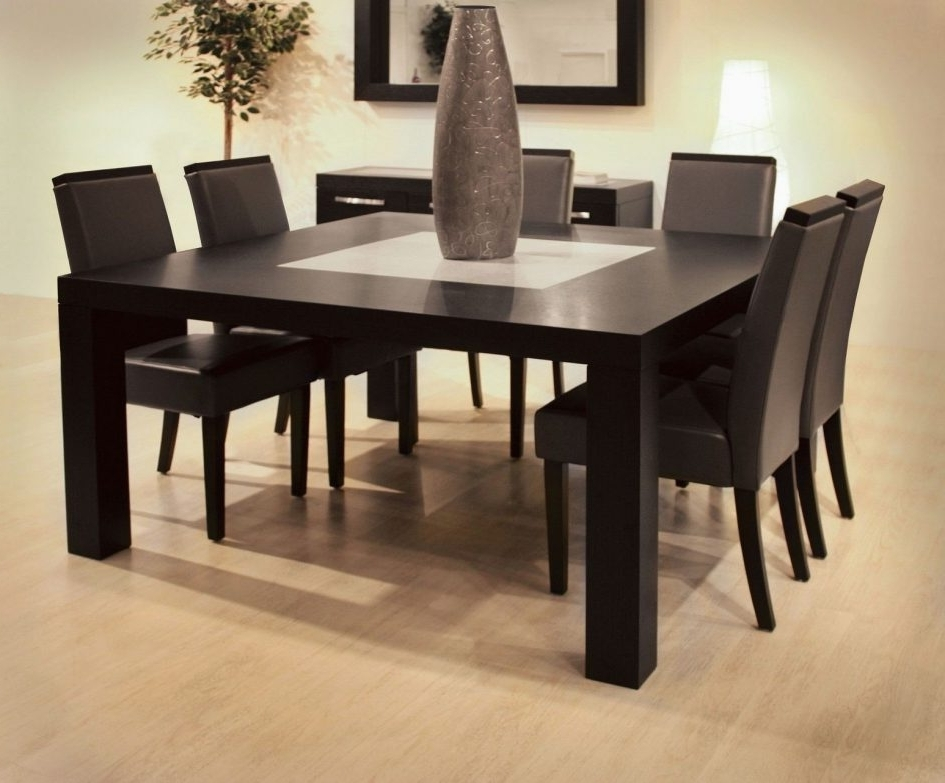 Trendy Dark Wood Square Dining Tables Intended For Oval Dining Table Dark Wood Dining Table Round Oak Dining Table  (View 20 of 20)