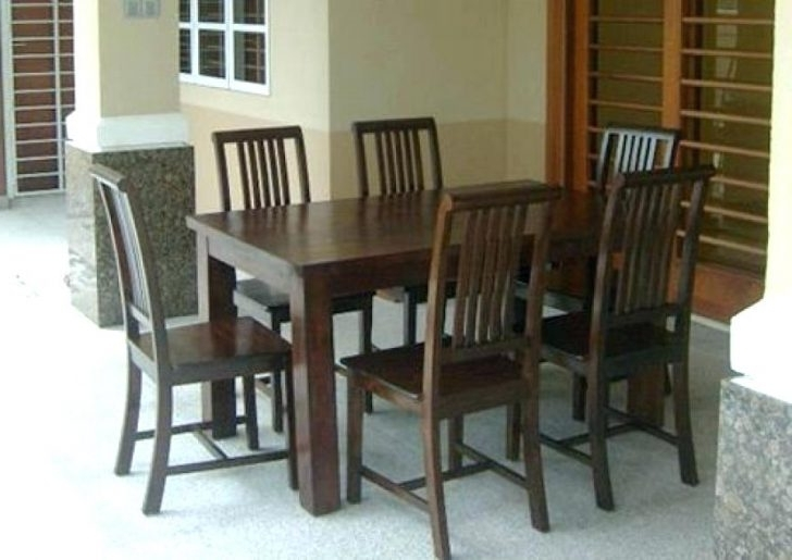 Trendy Dining Table And Six Chairs Round Glass For 6 Modern Foter With Ege Within Dining Tables And Six Chairs (View 5 of 20)