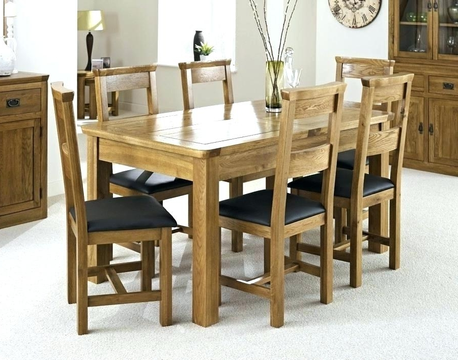 Trendy Dining Tables For Six With Dining Table With Six Chairs Incredible Nice Dining Room Chairs Set (View 9 of 20)