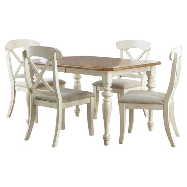 Trendy Gavin 7 Piece Dining Sets With Clint Side Chairs With Regard To Dining Sets (View 16 of 20)