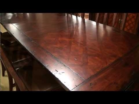 Trendy Havana Rectangular Trestle Dining Tablehekman Furniture (View 14 of 20)