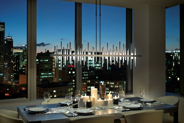 Trendy How To Light A Dining Room – Lightology Within Led Dining Tables Lights (View 18 of 20)