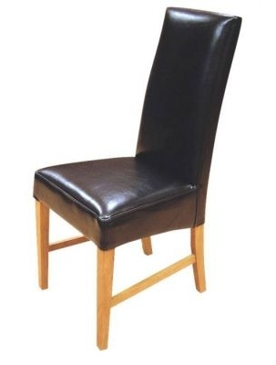 Trendy Leather Dining Chairs From Teh Tetlow Range – Cafe Reality Pertaining To Real Leather Dining Chairs (View 17 of 20)