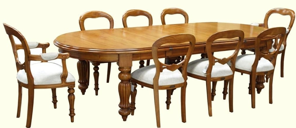 Trendy Mahogany Dining Tables And 4 Chairs Throughout Traditional And Contemporary Mahogany Dining Tables – Akd Furniture (View 17 of 20)
