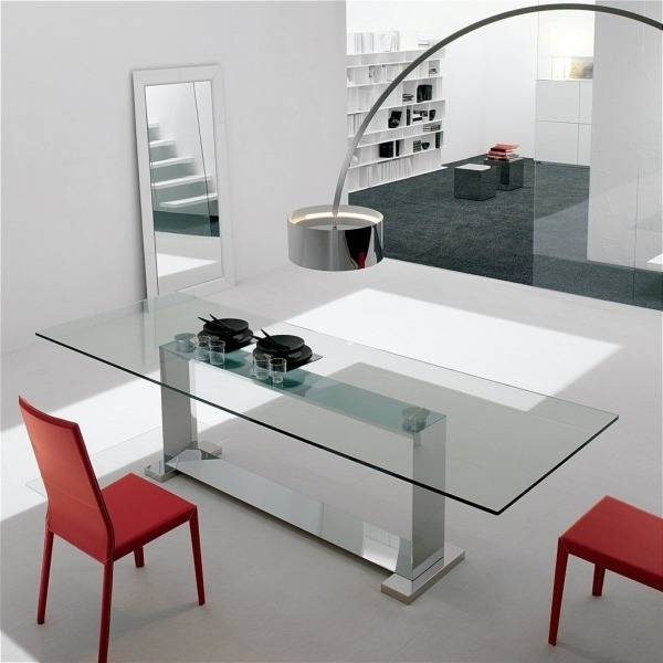 Trendy Monaco Dining Tables Inside Cattelan Italia Monaco Dining Table (View 15 of 20)