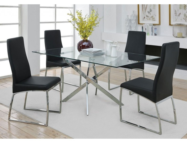 Trendy New York Modern Style Dining Table Regarding New York Dining Tables (View 18 of 20)