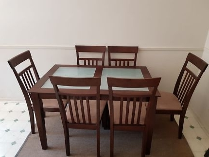 Trendy Norwood 7 Piece Rectangle Extension Dining Sets With Regard To Wooden Dining Setting With Extendable Table 9 Pieces (View 19 of 20)