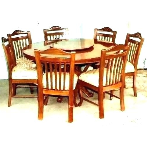 Trendy Round Dining Table 6 – Bcrr Throughout Round 6 Seater Dining Tables (View 19 of 20)