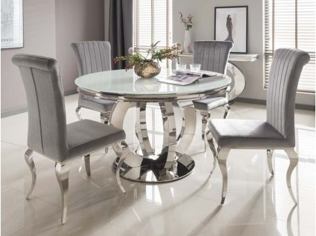 Trendy Round Dining Tables Throughout Round Dining Tables – Kitchen & Dining Furniture – Furniture (View 18 of 20)