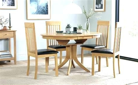 Trendy Round Extending Dining Table Sets Extending Dining Table And Chairs With Regard To Extending Dining Tables Sets (View 19 of 20)