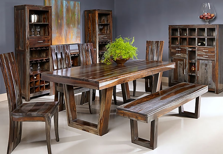 Trendy Sheesham Dining Tables For Thar Art Gallery::sheesham Wood Dinning Table 6 Chairs,sheesham Wood (View 16 of 20)