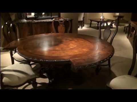 Trendy Universal Dining Tables Regarding Bolero Seville Round Pedestal Dining Tableuniversal Furniture (View 8 of 20)