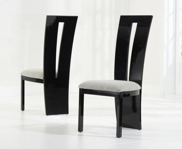 Trendy Valerie Black Gloss Dining Chair Pertaining To Black High Gloss Dining Chairs (View 19 of 20)