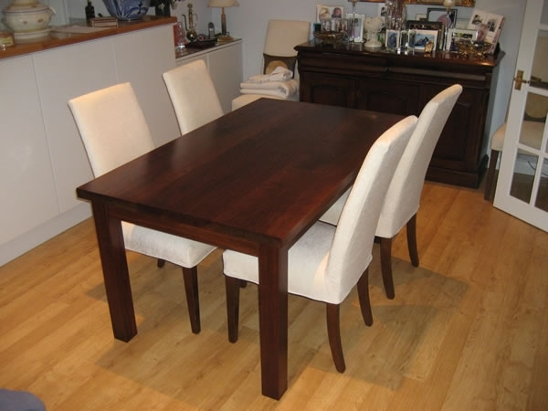 Trendy Walnut Dining Tables And Chairs With Walnut Dining Table Sets – Durable Walnut Dining Table – Iomnn (View 9 of 20)