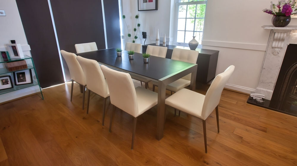 Trendy Wenge Extending Dining Table And Funky Quilted Chairs (View 17 of 20)