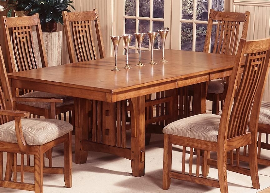 Trestle Dining Table (View 8 of 20)