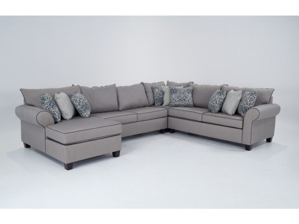 Turdur 3 Piece Sectionals With Laf Loveseat For Latest Ashton 4 Piece Left Arm Facing Sectional (View 7 of 15)