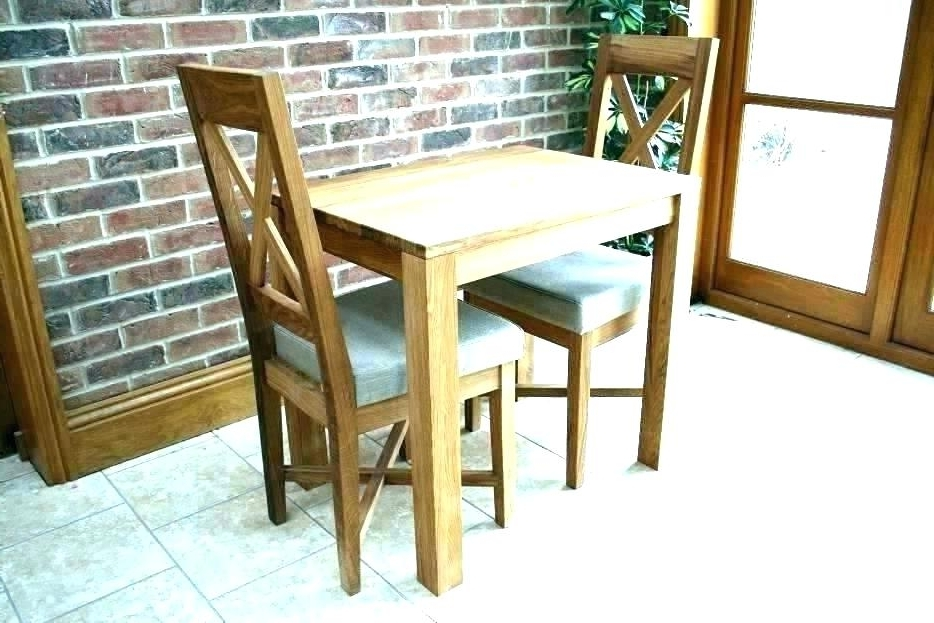 Two Chair Dining Tables Throughout 2017 2 Seater Dining Table Set – Dreamseekers (View 8 of 20)